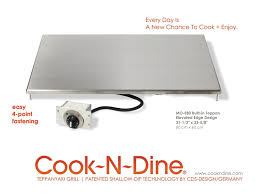 ... CND Built-in Teppanyaki grill plancha griddle model MO-E80 Elevated  Edge Edition L ...
