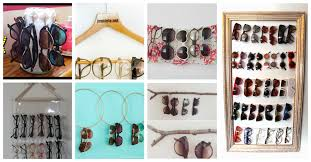 tag diy sunglasses rack