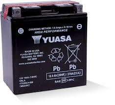 YTX20CH-BS - Yuasa Battery, Inc.