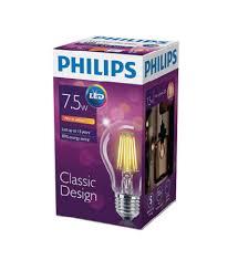 Philips Led Fila 75 70w E27 Ww A60