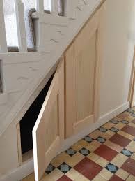 Interior Design:Under Stairs Closet Storage Solutions Organize Also  Interior Design Astounding Images Stair Shelving
