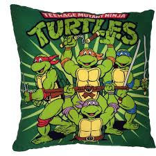 Ninja Turtle Bedroom Tmnt Teenage Mutant Ninja Turtles Decorative Pillow Walmartcom