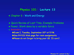 physics lecture pg physics lecture l quick  1 physics
