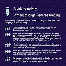 best efl writing images writing activities reverse reading students often get muddled when writing a narrative because they concentrate too much
