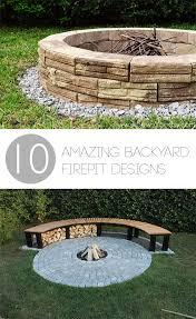 backyard projects fire pit designs diy fire pit designs backyard fire pit
