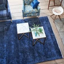 Designers Guild Rugs Carpets Roxburgh Indigo Rug By Designers Guild Designers Guild