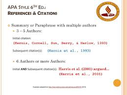 An Introduction To Apa Formatting Style 6th Ed Ppt Download