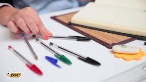 Канцтовары для офиса - <b>Ручка шариковая BIC</b> Cristal - YouTube