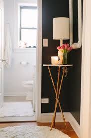 black hall tables narrow. House Tour: A 750 Square Foot Classic Chicago Walk-Up. Hallway TablesSmall TableBlack Black Hall Tables Narrow R