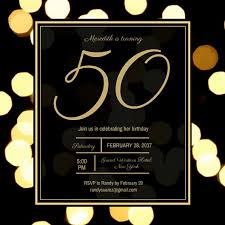 50th Birthday Invitations Templates Awesome Customize 988 50th Birthday Invitation Templates