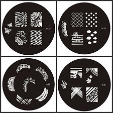 Nail Art Stencils РId̩e d'image de beaut̩