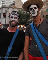 day of the dead makeup men beard the bearded skeleton mark
