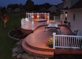 20 beautiful backyard wooden mesmerizing deck patio ideas