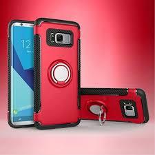 Casyva 3 in 1 Phone Cases Luxury <b>Carbon Fiber Anti-drop</b> PU+PC ...