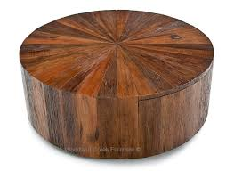Modern Chic Round Coffee Table