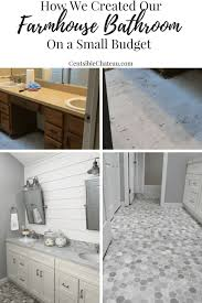 Custom Master Bathrooms Inspiration How To Remodel Your Master Bathroom On A Budget Centsible Chateau