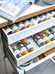 Kitchen Drawer Inserts Ikea Creative Ways To Stash Your Spices