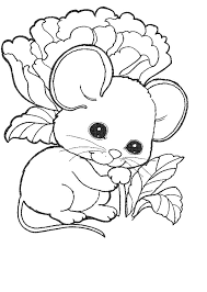 Small Picture Coloring Page Mouse animal coloring pages 4