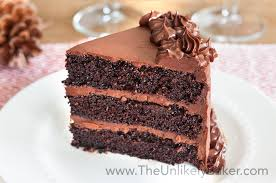 chocolate fudge cake slice. Delighful Chocolate The Best Ever Chocolate Cake With Fudge Frosting And Slice