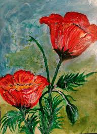 beautiful flowers in nature painting by jan famous paintings
