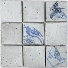 <b>Hand Painted Birds</b> 100x100 – VEELVLAK