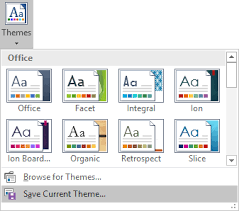 Excel Themes How To Change The Default Colors That Excel Uses For Chart Series