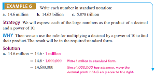 1 billion in standard form solved write each number in standard notation see example 6