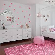 summer polka dot wall sticker set