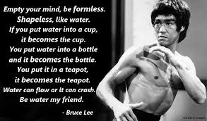 Bruce Lee Water Quote Awesome Bruce Lee Water MMA Gear Hub