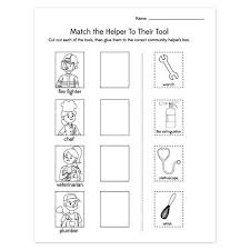 12. community helpers worksheets , community helpers worksheets for ...