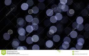 Fast Blinking Light White Festive Lights Bokeh Over Dark Background Stock