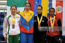 Yadira Lira of Mexico , Yoly Guillen of Venezuela , Ashley Binns and...  News Photo - Getty Images