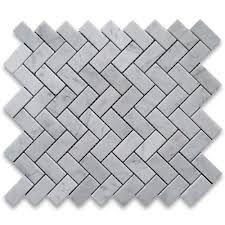 the herringbone tile layout is another pattern that can be used to make small rooms appear bigger than they really are since the eye tends to focus on the