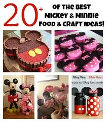 over 20 of the best mickey minnie mouse party food crafty