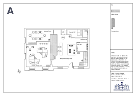 how similar these two floor plans appear and you should be finding it increasingly difficult to decide which one was created using autocad