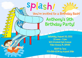 Pool Party Invites Templates Inspirational Pool Party