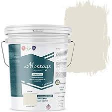 This sleek sheen resists mildew and wear, so it's great for bathrooms and kitchens. Amazon Com Montage Signature Interior Exterior Eco Friendly Paint Swiss Coffee Semi Gloss 5 Gallon Home Improvement
