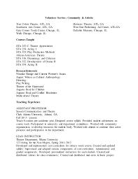Academic Achievement Resume Academic Cv Performance Resume