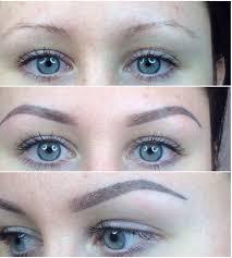 волосковый татуаж бровей отзывы фото до и после