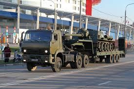 Седельный тягач КамАЗ Военное обозрение Тягач КамАЗ 65225 с полуприцепом Фото