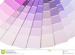 Purple And Lilac Color Range Stock Image Image Of Purple