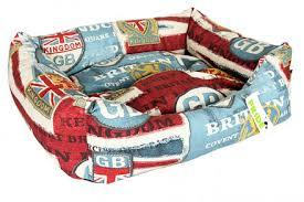 <b>Лежак для собак</b> Pride <b>Винтаж</b> Британия 70х60х23см, цена 2850 ...