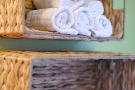 diy towel storage. Easy Bathroom Towel Storage Idea Diy O