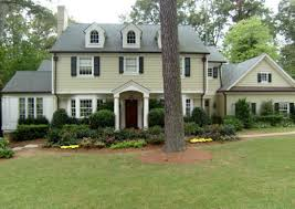 exterior paint colors for colonial style house. life as we know it-real house exterior paint colors for colonial style 6
