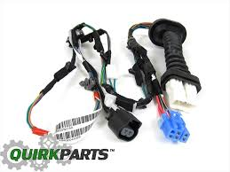 dodge ram 1500 2500 rear door wiring harness right or left side 56051931ab