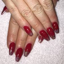 Red and Silver Glitter Nail Designs, Nail Designs also Patriotic ...