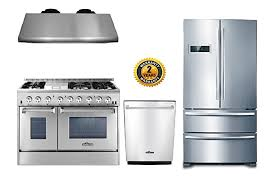 thor appliance package. Plain Package Thor Kitchen 4Piece Package With 48u0026quot Dual Fuel Range 6 Burner With  Double And Appliance N