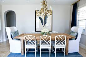 wing chair slipcovers dining room transitional with arched doorway banded ds blue ds chinese chippendale chairs