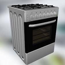 Oven Gas Stove Oven 3d Model