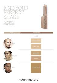 Thin Lizzy Concealer Colour Chart Flawless Liquid Foundation Nude By Nature Au
